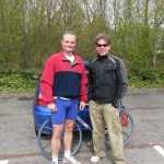 Me and Rhodri, Ashbourne Duathlon
