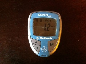 Low blood glucose reading
